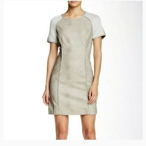 NWT Tart Faux Leather Dress